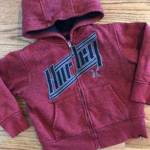 HURLEY Sherpa Lined FULL ZIP Jacket / Coat Pocket
